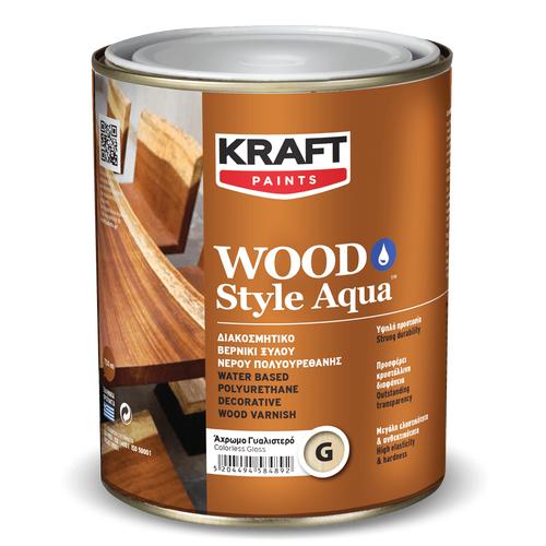 KRAFT Wood Style Aqua