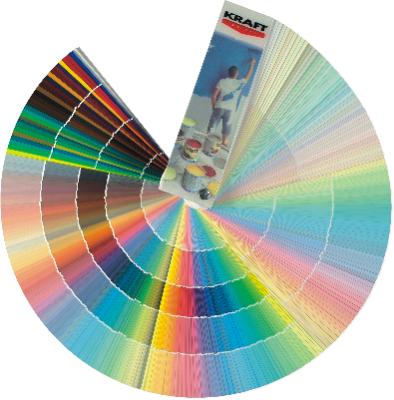 Paletar Tencuiala Decorativa.Kraft Silicone Plaster Kraft Paints